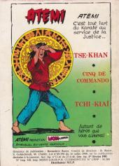 Verso de Akim (1re série) -516- Guet-apens au Cratère Vert