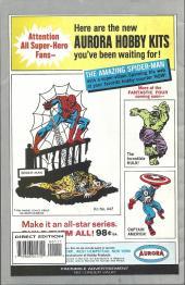 Verso de Uncanny X-Men (The) (Marvel comics - 1963) -28MIL- Banshee