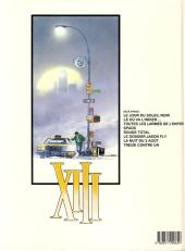 Verso de XIII -7a1991/10- La nuit du 3 août