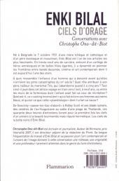 Verso de (AUT) Bilal -14- Ciels d'orage