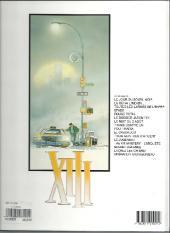 Verso de XIII -13a2005- The XIII mystery - L'enquête