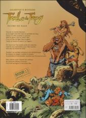 Verso de Trolls de Troy -7a2004- Plume de sage