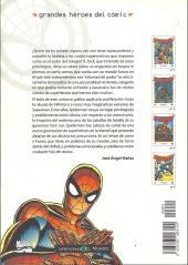 Verso de Grandes héroes del cómic -1- Spiderman 1