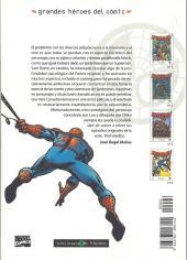 Verso de Grandes héroes del cómic -4- Spiderman 4