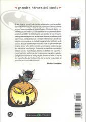 Verso de Grandes héroes del cómic -6- Batman 2