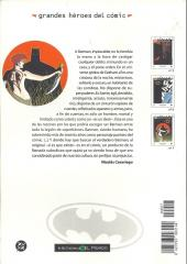 Verso de Grandes héroes del cómic -7- Batman 3
