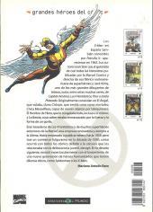 Verso de Grandes héroes del cómic -8- Patrulla-x 1