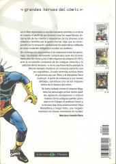 Verso de Grandes héroes del cómic -10- Patrulla-x 3