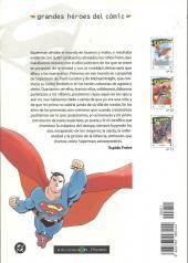 Verso de Grandes héroes del cómic -11- Superman 1