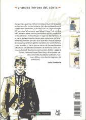 Verso de Grandes héroes del cómic -21- Corto maltés 2
