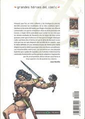 Verso de Grandes héroes del cómic -25- Conan el bárbaro 3