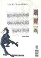Verso de Grandes héroes del cómic -39- Los vengadores 2