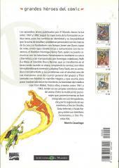Verso de Grandes héroes del cómic -40- Los vengadores 3