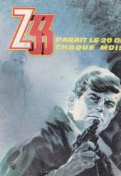 Verso de Z33 agent secret -17- L'odyssée du Capitaine Heide