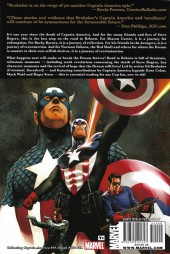 Verso de Captain America (2005) -INT10- Road To Reborn