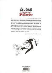 Verso de (AUT) Reiser - Les années Pilote