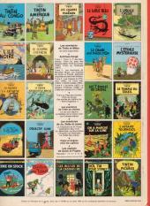 Verso de Tintin (Historique) -19C5- Coke en stock