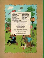 Verso de Tintin (Historique) -18B39- L'affaire Tournesol