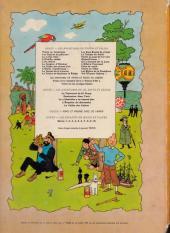 Verso de Tintin (Historique) -10B38- L'étoile mystérieuse