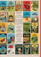 Verso de Tintin (Historique) -9C6- Le crabe aux pinces d'or