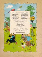 Verso de Tintin (Historique) -8B39- Le sceptre d'Ottokar