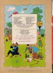 Verso de Tintin (Historique) -22B38- Vol 714 pour Sydney