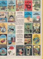 Verso de Tintin (Historique) -23C6- Tintin et les Picaros