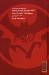 Verso de Batman : Année un -INT b- Année 1