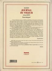 Verso de (AUT) Baudoin, Edmond - Journal du voleur