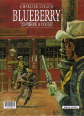 Verso de Blueberry (France Loisirs) -1- Fort Navajo / Tonnerre à l'ouest