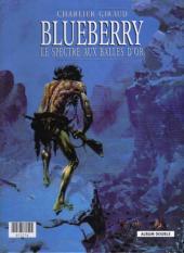 Verso de Blueberry (France Loisirs) -3- La mine de l'allemand perdu / Le spectre aux balles d'or