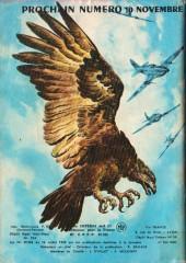 Verso de Rapaces (Impéria) -357- Ciel sauvage