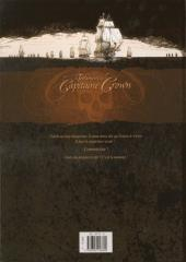 Verso de Le testament du Capitaine Crown -2- L'or des damnés