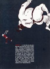 Verso de Bile noire -7- Janvier 2000