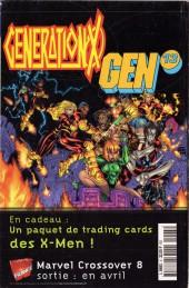 Verso de Marvel Méga -5- Magneto - Nouveau départ