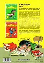 Verso de Gaston (Hors-série) - Le Dico Tome 2 : de K à Z