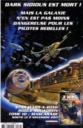 Verso de Star Wars - BD Magazine / La saga en BD -34- Numéro 34