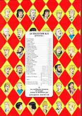 Verso de Alix (Fac-Similé) -3- L'île maudite