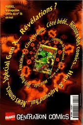 Verso de Marvel Select -3- Le retour de Ka-Zar