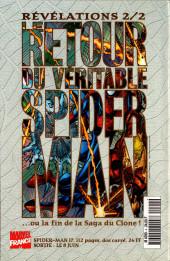 Verso de Marvel Select -4- Un avant-goût du paradis?