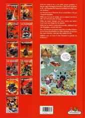 Verso de Les pompiers -11- Flammes au volant