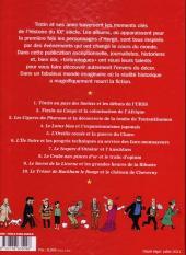 Verso de Tintin - Divers -60''''- Les Personnages de Tintin dans l'Histoire