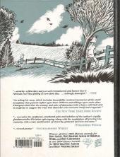 Verso de Blankets (en anglais) -a2011- Blankets