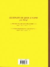 Verso de Quick et Flupke (Les Exploits de) (intégrale) -2- 2e volume