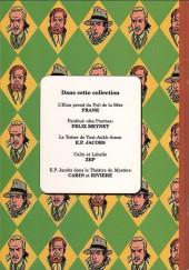 Verso de (AUT) Jacobs, Edgar P. -2a- Le Théâtre du mystère