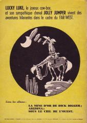 Verso de Lucky Luke -2a1952- Rodéo