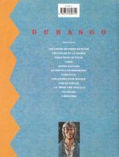 Verso de Durango -1c97- Les chiens meurent en hiver