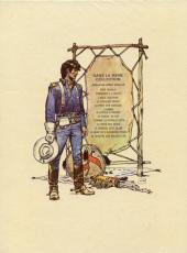 Verso de Blueberry -12'- Le spectre aux balles d'or