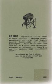 Verso de Ad hoc -23- Février 1999