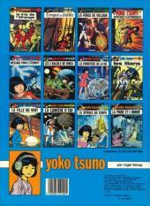 Verso de Yoko Tsuno -4b82a- Aventures électroniques